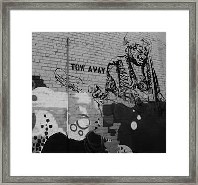 Jimi-2 Framed Print by Todd Sherlock