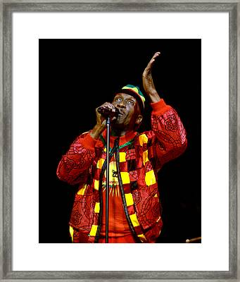 Jimmy Cliff Framed Print