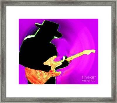 Jimmy Page Nixo Framed Print by Nicholas Nixo