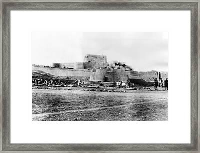 Jimrud Fort In The Khyber Pass Framed Print by Everett
