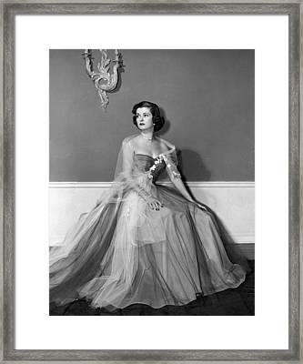 Joan Bennett, Ca. Early 1950s Framed Print