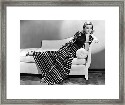 Joan Bennett, Paramount Pictures Framed Print by Everett