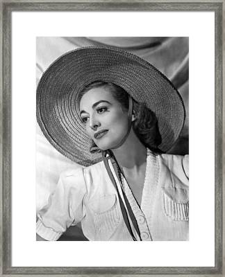 Joan Crawford, Ca. 1938 Framed Print by Everett