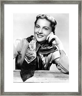 Joan Fontaine, Paramount Pictures, 1945 Framed Print