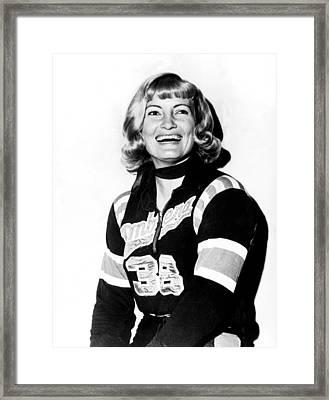 Joan Weston, 1935-1997, Athlete Framed Print by Everett