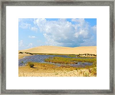 Jockey's Ridge Framed Print