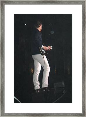 Joe Bonamassa-3 Framed Print by Todd Sherlock