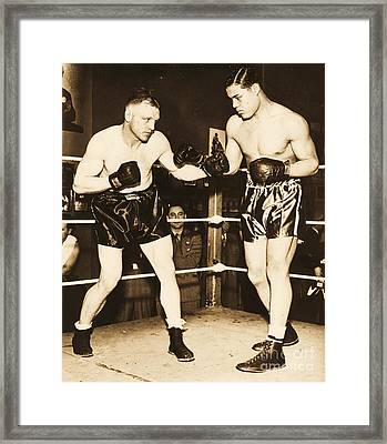 Joe Louis  Framed Print by Pg Reproductions