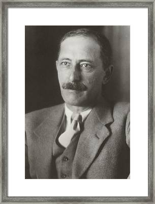 Joel Elias Spingarn 1875-1939, Jewish Framed Print