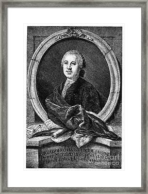 Johann Adolf Hasse Framed Print by Granger