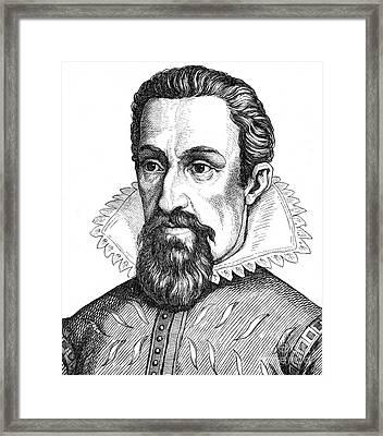 Johannes Kepler, German Mathematician Framed Print by Science Source