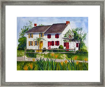 John Abbott House Framed Print
