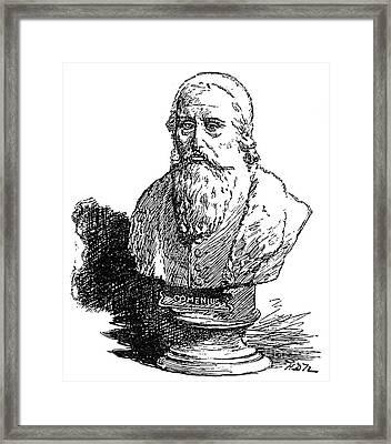 John Amos Comenius Framed Print by Granger