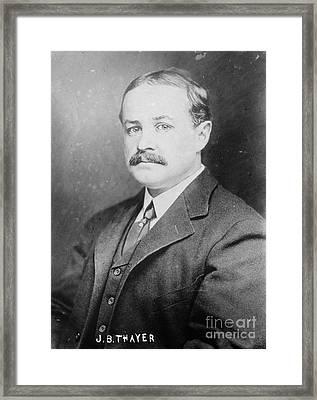 John Borland Thayer Framed Print