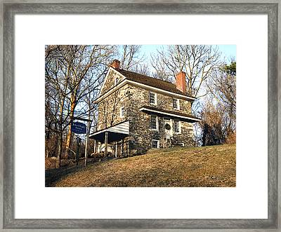 John Chad's Place Framed Print by Gordon Beck