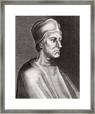 John Colet, English Humanist Framed Print