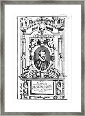 John Donne (1573-1631) Framed Print by Granger