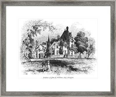 John E. Williams Residence Framed Print by Granger