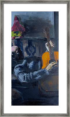 John Framed Print by Eric Atkisson