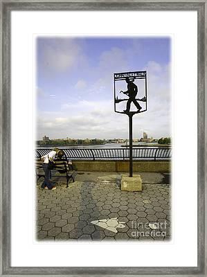 John Finley Walk V Framed Print