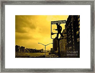 John Finley Walk V1 Framed Print