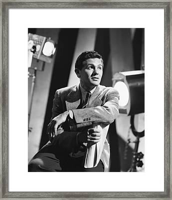 John Garfield, No Date Framed Print by Everett