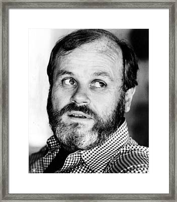 John Gregory Dunne, Circa 1977 Framed Print by Everett
