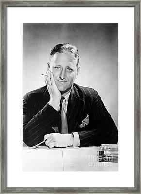 John Gunther (1901-1970) Framed Print by Granger