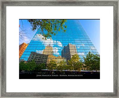 John Hancock Tower Framed Print