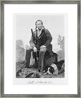 John James Audubon, French-american Framed Print by Omikron