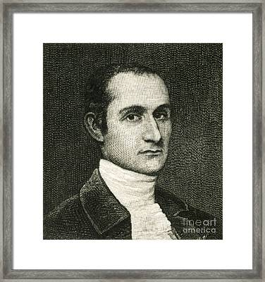 John Jay, American Founding Father Framed Print