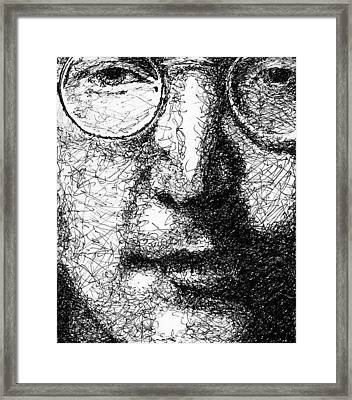 John Lennon Framed Print by Larry Joe