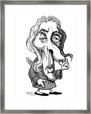 John Locke, English Philosopher Framed Print by Gary Brown
