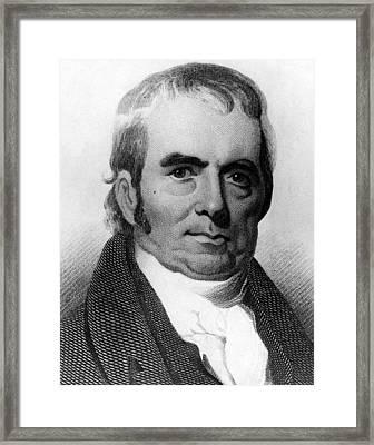 John Marshall, 1755-1835, Chief Justice Framed Print by Everett