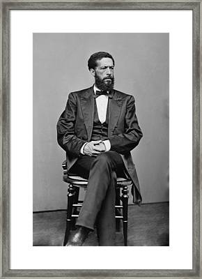 John Mercer Langston 1829-1897, Son Framed Print by Everett