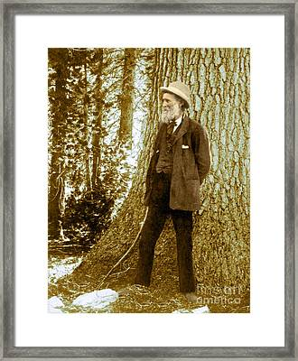 John Muir, Scottish-american Naturalist Framed Print by Science Source