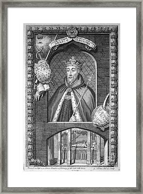 John Of Gaunt (1340-1399) Framed Print