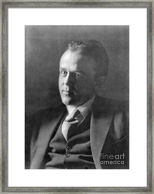 John Reed, American Journalist Framed Print by Photo Researchers