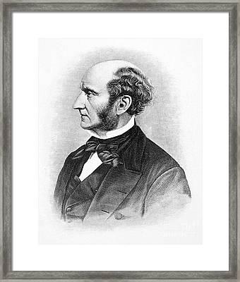 John Stuart Mill Framed Print