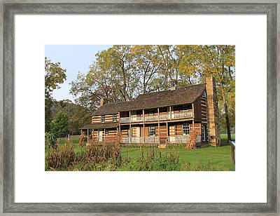 John T Mathias Homestead Framed Print