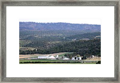 John Waynes Old Ranch Framed Print
