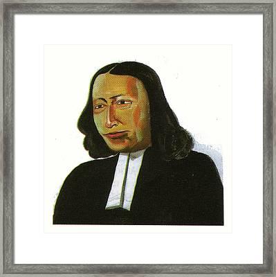 John Wesley Framed Print by Emmanuel Baliyanga