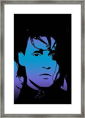 Johnny As Edward Framed Print by Jera Sky