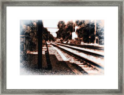 Johnny B Gone Framed Print by Bill Cannon
