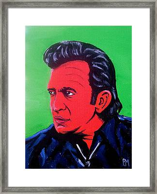 Johnny Pop Framed Print by Pete Maier