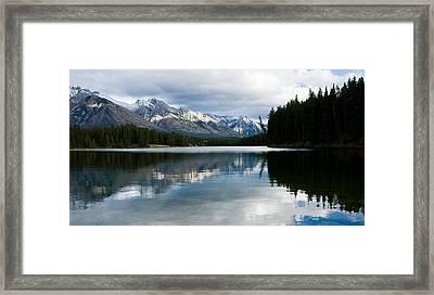 Johnson Lake Framed Print by Adam Pender
