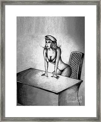 Join Me Framed Print by Dejan Jovanovic