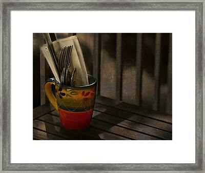 Join Me Won't You Framed Print