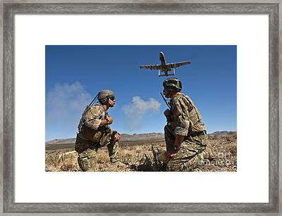 Joint Terminal Attack Controllers Call Framed Print