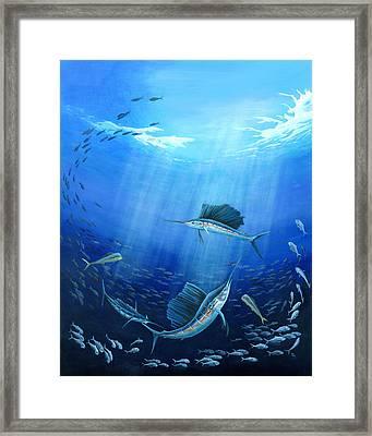 Joint Venture Framed Print by Sandra Camper